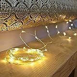 AtneP 5M 50LEDs USB Sliver String Copper LED Lights Warm White Decorative Fairy Lights