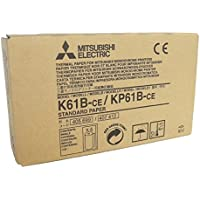 Mitsubishi Electric Corporation k61b-ce/kp61b-ce Kit papel térmico para impresora Medicale, A6, 110mm x 20m, 4unidades