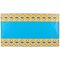"Amscan Cute Peppa Pig Birthday Party Table Cover, Yellow/Blue, 54"" x 96"""