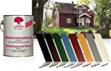 Leinos Wetterschutzfarbe 850 2,5l altweiß