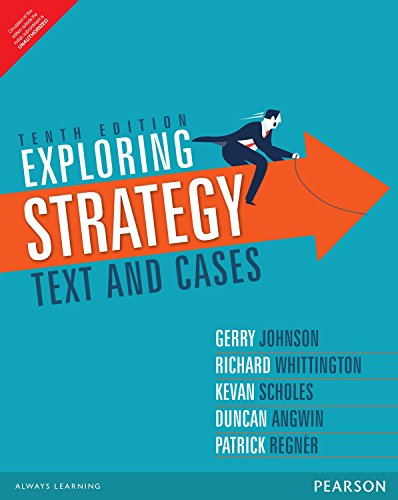 Exploring Strategy: Text And Cased, 10Th Edition