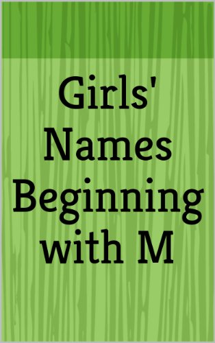 Girls' Names Beginning with M (Letter Series) eBook: Haley