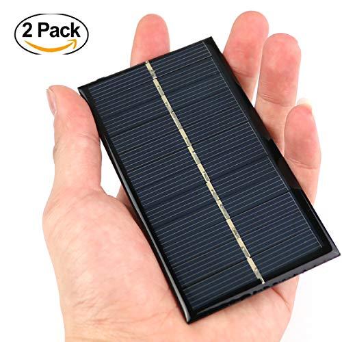 N.H Exclusives Solarmodul 6V Tragbar DIY-Modul Klein Solar Panel für handy ladegerät Spielzeug etc. Solar Zelle