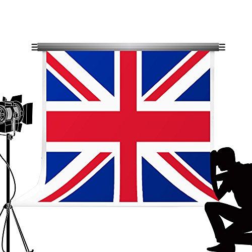Kate British Flaggen Hintergründe für die Fotografie Faltbare Union FAG Studio für National Day Foto Booth Hintergrund 7 x 5ft/2,2 x 1.5 N -