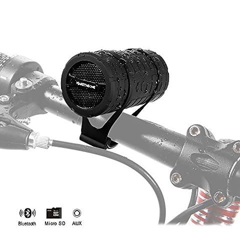 Enceinte Velo - Bluetooth pour Vélo IPX3 Extérieur Haut Parleur