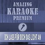 Ich lass für dich das Licht an (Premium Karaoke Version) (Originally Performed By Revolverheld)