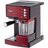 Oster Bvstem 6601 R Cafetera Expresso con Tratamiento de Leche, 1238 W, 33 litros