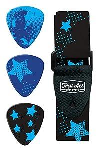 Jazwares-First Act Discovery-Pack Accesorio para Guitarra-Estrellas, fx20690000