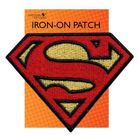 Parche bordado Superman alta calidad planchar coser