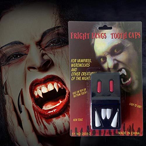 r Zähne Vampirzähne Halloween Party Favors Cosplay Prop Dekoration Horror Scary Zähne Halloween Ideen (3pcs) ()