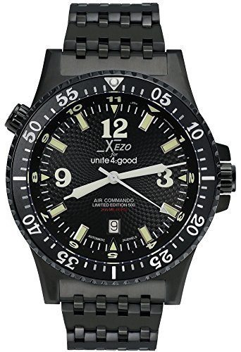 Xezo Men's Professional Pilot Diver Automatic 200 M Water-resistant Watch by Xezo Pens