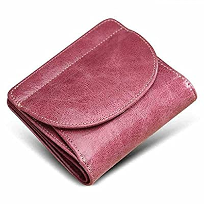 ZLR Mme portefeuille Nouvelle section Wallet Ladids Short Section Cuir Portefeuille en cuir mince Portefeuille en cuir mince