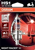 OSRAM 64185NR9-01B NIGHT RACER 90 HS1 Halogen...