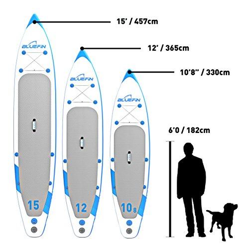 Aufblasbares Bluefin Stehpaddel-Board 10,8