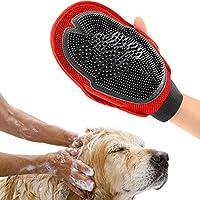 KICCOLY ✅Cepillo para Perros,Guantes quitapelos y Rodillos,Guantes de Mascotas,1