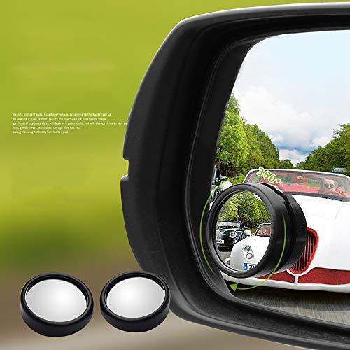 FG-Car blind angle mirror Auto Toten Winkel Spiegel, Upgrade konvexen Weitwinkel 360 Grad einstellbar Stick auf Rückspiegel für alle Autos SUV Trucks (2Pack)