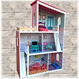 TikTakToo XXL Großes Puppenhaus aus Holz Dream Villa Barbiehaus Puppenhaus Puppenstube