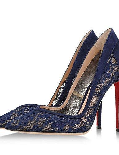 Chaussures à talon aiguille ShangYi bleues femme uMg2lAX8E