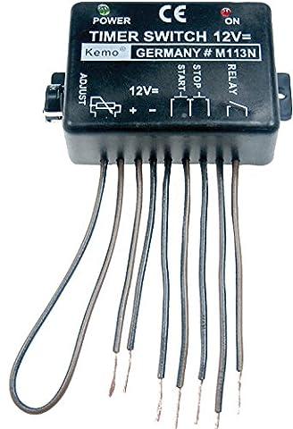 Module interrupteur temporisé Kemo M113A (kit monté) 12 - 15