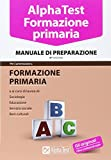 Alpha Test. Formazione primaria. Manuale di preparazione