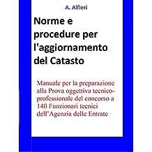Concorso Funzionari Agenzia Entrate - Norme e procedure per l'aggiornamento del Catasto