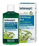 tetesept Erkältungsbad Badekonzentrat - Badezusatz mit 4 ätherischen Ölen gegen Erkältungsbeschwerden - Atemwege befreien & Wohlbefinden fördern - 1 x 250 ml...
