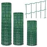 GAH Alberts Garden Fence Schweißgitter Promo 25 Meter Rolle 100 cm Hoch grün