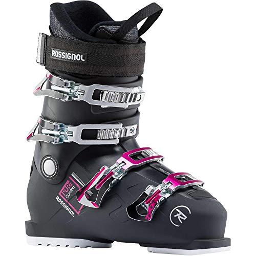 Rossignol Damen Skischuhe Pure Comfort Rental Soft BK Größe 42 2/3 Schwarz 24 Schwarz