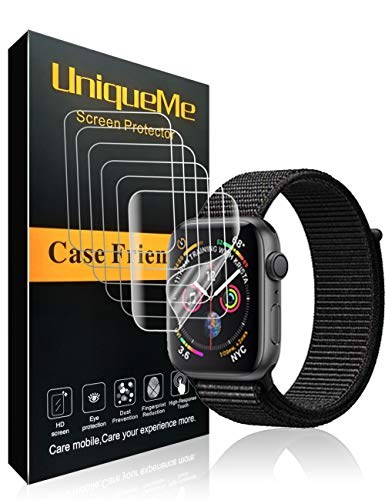 UniqueMe [6 Paquetes] Protector Pantalla Watch Apple