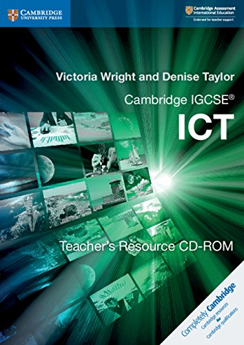 Cambridge IGCSE. ICT. Teacher's resource. Per le Scuole superiori. CD-ROM (Cambridge International IGCSE)