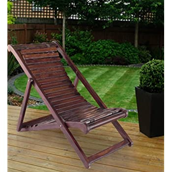 Ordinaire Lifeestyle Folding Relaxing Chair In Sheesham Wood