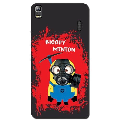 Kaira Brand Designer Back Case Cover for Lenovo K3 Note (Bloody Minion)