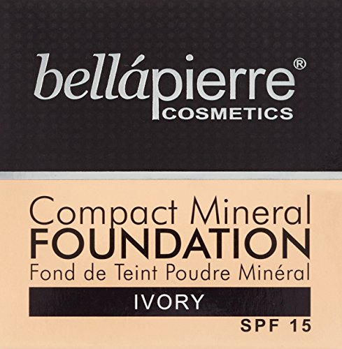 bellapierre Cosmetics Compact Foundation, Ivory