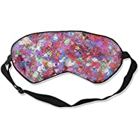 Sleep Eye Mask Bright Abstract Lightweight Soft Blindfold Adjustable Head Strap Eyeshade Travel Eyepatch E16 preisvergleich bei billige-tabletten.eu