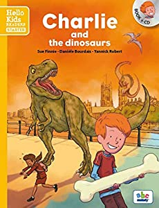 """Afficher """"Charlie and the dinosaurs (livre + CD)"""""""