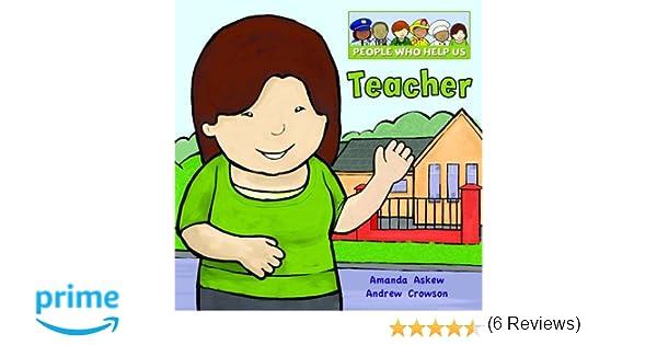 Teacher (People Who Help Us): Amazon.co.uk: Amanda Askew, Andrew ...