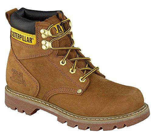 Caterpillar Herren Stiefel Second Shift 6 Inch Boots Leder P703925 Schwarz 705773 Braun (45, Braun) Leder Shift Boots