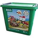 Brio 33135103 Großes Countryside Set mit Silo [Spielzeug] [Spielzeug]