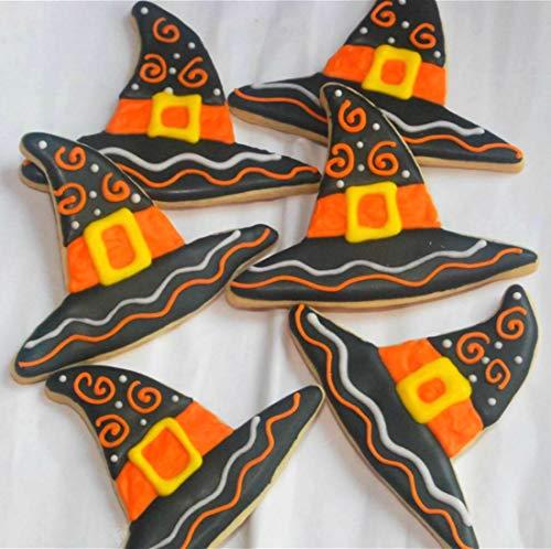 LILIAO Set di Halloween Formine Biscotti - 9 Pezzi - Cappello della ... d95b8b3a66de