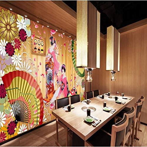 Kostüm Cherry's - Traditionelle Kostüm-Schönheits-Wandgemälde-Tapeten japanischer Art Cherry Blossom für Sushi-Restaurant-industrielles Dekor-Tapeten 3D
