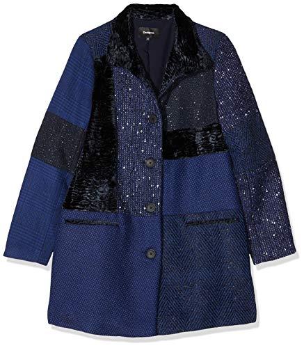 Desigual Abrigo CARTTER Azul de Mujer 38 Azul