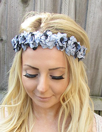 grey-black-rose-flower-garland-headband-hair-crown-festival-pastel-goth-1864-exclusively-sold-by-sta