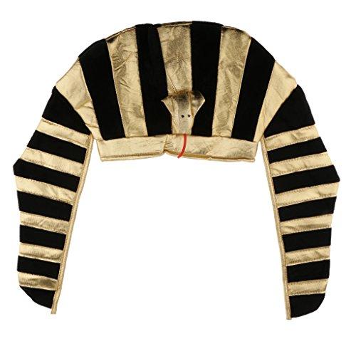 Sharplace Vintage ägyptischer Pharaonen König Hut Kopfbedeckung Party Kostüm Zubehör