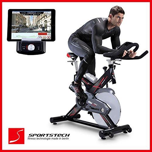 Sportstech SX400 bicicleta estática profesional con App control para Smartphone...