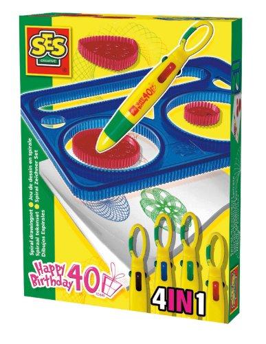 Imagen principal de SES creative - Set de espirales de dibujo, multicolor (00947)