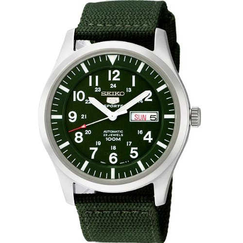 Seiko 5 Sports Military Automatic Gents SNZG09J1