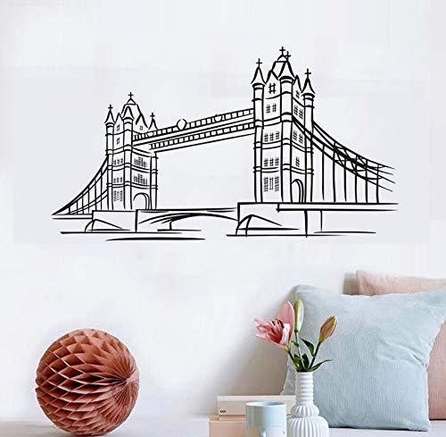 Party Supplies London - KUHGTFD Wandaufkleber Gift London Bridge Vinyl