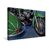 Premium Textil-Leinwand 45 x 30 cm Quer-Format Zündapp KS 601 | Wandbild, HD-Bild auf Keilrahmen, Fertigbild auf hochwertigem Vlies, Leinwanddruck von Ingo Laue (CALVENDO Mobilitaet)