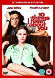 10 Things I Hate About You [DVD]