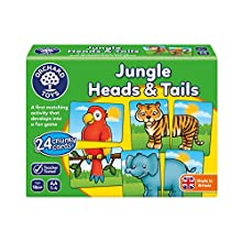 Orchard Toys Jungle Heads and Tails Game